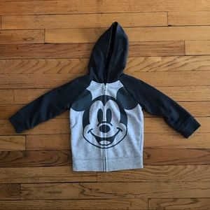 Disney by jumping beans Mickey Mouse Zip Hoodie